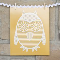 I am so in love with owls right now.