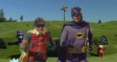 Batman & Robin (Gif)