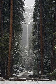 Lower Falls, Yosemite, California photo via kormyo