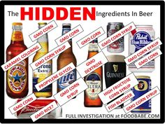 The Shocking Ingredients In Beer  This is why Craft beer is so much better!