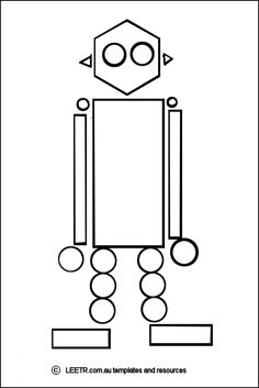 robot theme on pinterest robots file folder games and coloring pages. Black Bedroom Furniture Sets. Home Design Ideas