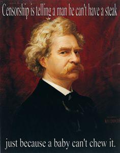 Right on, Mark Twain!