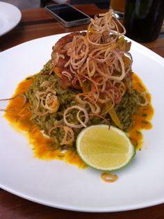 Arroz con Pollo - Rice with Chicken, cilantro and coriander
