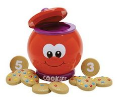 Learning Journey LJ-524800 Count & Learn Cookie Jar 2 Play Mode Version