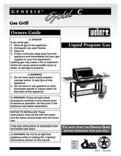 Gas Grills...