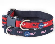 Vineyard Vines® by Mascot Icon Whale Collar