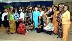 #AWEP #IVLP African Women Entrepreneurs Meet Secretary Clinton.