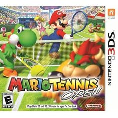 Mario Tennis Open from Nintendo