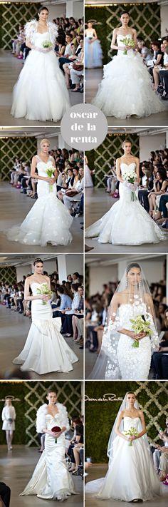 oscar de la renta wedding dress spring 2013