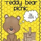 This is a perfect unit for you to plan a teddy bear picnic for your students.  This is jam packed with all you need.  Included are:31 pages to he...