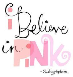 pink, pink, pink! pink, pink, pink! pink, pink, pink!