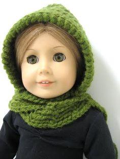 SuzyMStudio:Free Crochet Hooded Scarf Tutorial