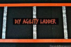 DIY Agility Ladder - A Renaissance Woman
