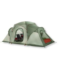 Big Woods Dome 8-Person Tent- useful if you must leave your home