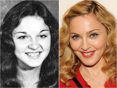 Madonna Yearbook Photo Answer