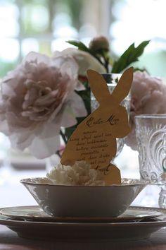 tabl fun, tablewith menu, spring decor, menu cards, easter tabletop, tabl design, entertain, sweet savannah, easter tablewith