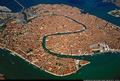 General  View of Venice, Italy by Yann Arthus-Bertrand  - Earth from Above