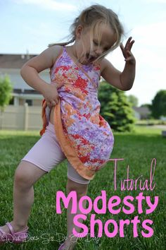 Tutorial: Modesty Shorts