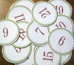 FREE Holiday Gift and Advent Labels