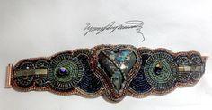 Heart of Hearts Art Piece Cuff bracelet by Lynn by LynnParpard, $210.00