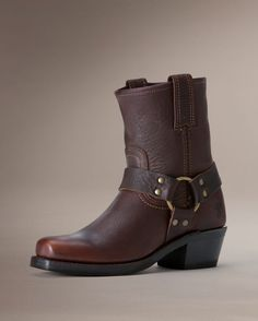 Yes please :) Frye Women's Harness 8R Boot - Blazer Brown