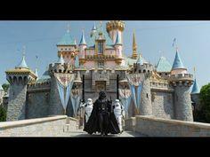 Darth Vader in Disneyland. #lol