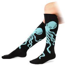 ThinkGeek :: Octopus Knee-high Socks