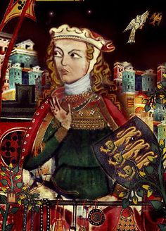 LEONOR PLANTAGENET REINA DE CASTILLA also known as Eleanor of England (1162 – 1214) - was Queen of Castile and Toledo as wife of Alfonso VIII of Castile. She was a daughter of Henry II of England and his wife, Duchess Eleanor of Aquitaine.  Eleanor best inherited her mother's political influence. She was almost as powerful as her husband, who specified in his will that she was to rule alongside their son in the event of his death.