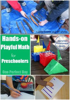 Four Simple Ways to Teach Early Math Concepts To Preschoolers - One Perfect Day