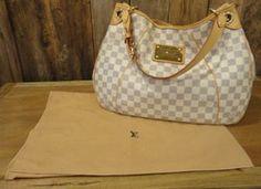 Louis Vuitton Damier Azur Galliera Handbag #designer #handbag #louisvuttion #galliera #damier