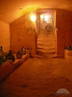 Cave dwellings (interior) - inspiration