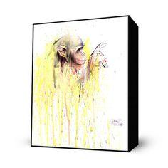 Monkey 11 Mini Art Block, $26, now featured on Fab.