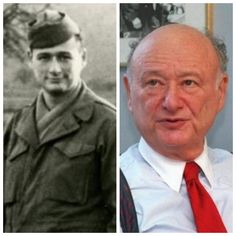 Ed Koch-Army-WW2-1943-infantryman in 104th Div. landed in Cherbourg France, earned numerous medals (Former Mayor of NYC, House of Representatives)