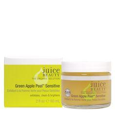 Beauty Au Natural: Coconut Oil + Juice Beauty Green Apple Peel Sensitive = Skin Saver!