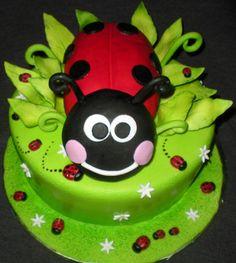 Lady~bug cake