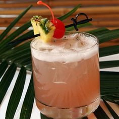 1 oz lemon-infused Ciroc Vodka  1 oz mango rum  2 oz pineapple juice  2 oz cranberry juice    Mix ingredients together and serve in a punch bowl or tumbler over ice, or individual glass tumbler. Garnish with a pineapple and | http://foodanddrinkrecipecollections.blogspot.com