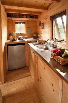 Tiny House Kitchen - Fencl Plans | Tumbleweed Tiny House Company