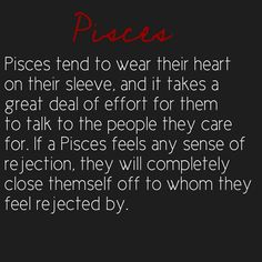 #Pisces fact ♓