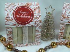 Christmas soap samplers - $12.00