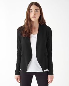 Stretch Knit Blazer