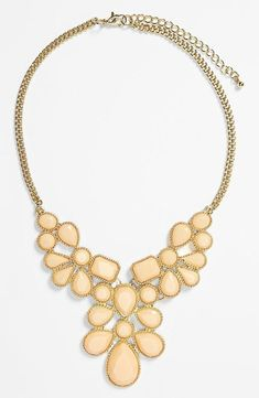 Statement necklace for fall