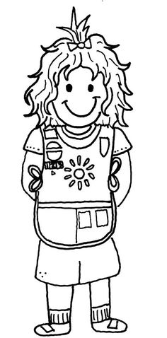 daisy girl scouts coloring pages on pinterest