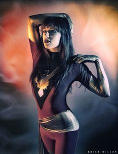 Kearstin Nicholson as Dark Phoenix | Keane On Comics