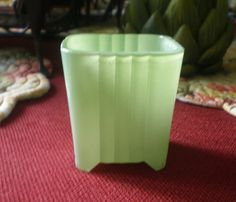 Antique Vintage Mid Century Glass Jadite Green by NeldaMaesCloset, $21.50