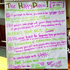 Melissa Joy • These Are My Happy Dozen Rules for Life. What Are Yours?
