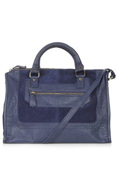 SUEDE AND LEATHER HOLDALL