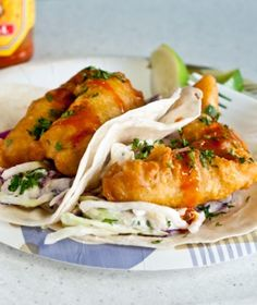 Monahan's Baja-Style Fish Tacos