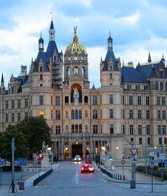 Schwerin Castle in Schwerin, #Germany