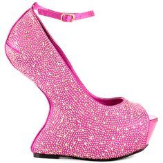 Shoe Republic Women's Faye – Fuchsia PU