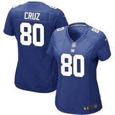 NY Giants Victor Cruz Women's Jersey